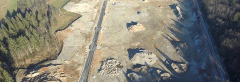 Velike površine za industrijo na odlični lokaciji